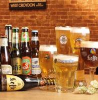 20種類以上のビールが楽しめる!