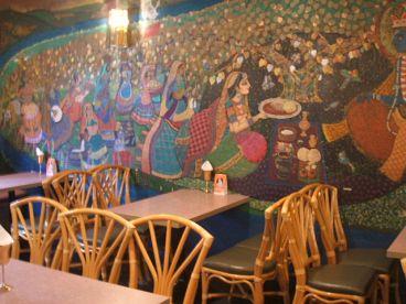 ナイルレストランの雰囲気1