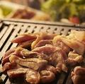 料理メニュー写真フジヤマ鶏盛り合わせ