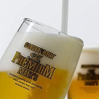 コスパ◎な飲み放題は2H1200円♪生ビール付1500円♪