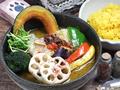 料理メニュー写真野菜のスープカレー