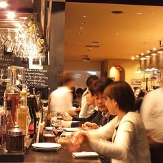 お洒落なイタリアンバルでワインとおいしいお料理をお楽しみください♪