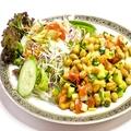 料理メニュー写真炒り大豆のスパイシーサラダ