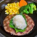 料理メニュー写真和風おろしハンバーグ/150g
