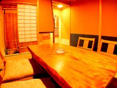 4名様用の茶室です。8000円以上の会席、10000円の[飲放]付会席よりご予約承ります。1席限定となっておりますので早めにご予約下さい