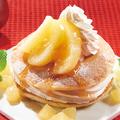料理メニュー写真横浜パンケーキ アップルキャラメル