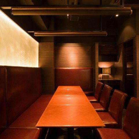 5名様~6名様個室テーブル席。
