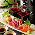 料理メニュー写真旬魚の刺身盛り合わせ
