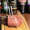 料理メニュー写真《BEEF》牛ランプ肉(180g)