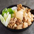 料理メニュー写真炭火焼き鳥の塩コラーゲン鍋