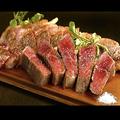 料理メニュー写真《BEEF》牛リブロース肉(180g)