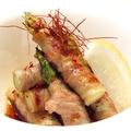 料理メニュー写真太アスパラの豚肉巻き