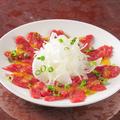 料理メニュー写真桜肉カルパッチョ