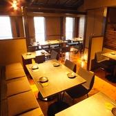 2階席は30名様前後のご宴会にも対応可能です。
