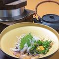 料理メニュー写真鯛の漬け釜飯