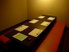 接待用に人気のある個室