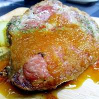 肉祭り!その【1】群馬麦豚のローストポーク980円