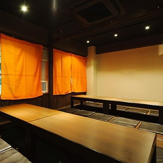 MAX80名様OKの個室♪当店自慢の3時間コースでも足腰楽ちん♪換気扇付き完全個室あります。かんき抜群!他のお客様との接触ほとんどなし!