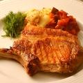 料理メニュー写真三元豚のリブステーキ