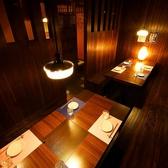 ゆったり広めのテーブル個室