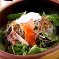 料理メニュー写真シャキシャキベビーリーフのおかかサラダ