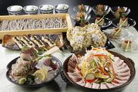 各種、ご宴会には厳選料理の宴会コースで