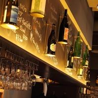 店主が選ぶ日本酒は常時30種以上!