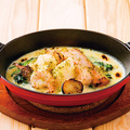 料理メニュー写真【グラタン】熱々ぐつぐつシーフードグラタン