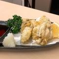 料理メニュー写真広島県産牡蠣の天ぷら磯辺揚げ