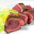 料理メニュー写真和牛ハツのステーキ