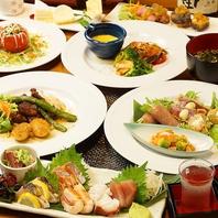 宴会を盛り上げる創作料理をご堪能ください!