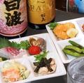 料理メニュー写真おつまみセット(8品盛り)