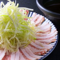 料理メニュー写真九州名物豚しゃぶ