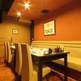 【◆個室◆8名様テーブル&ソファー席】最大8~10名様でのご利用が可能です。