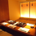 落ち着いた雰囲気でお食事を愉しんで頂ける個室もご用意しております。