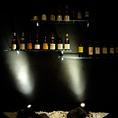 ワインはフランスの物を中心としたラインナップでご用意しております。いつもは感を頼りに注文されているお客様もご相談ください、ソムリエの資格を持ったスタッフがしっかりご案内させていただきます。