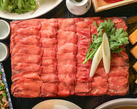 豊富なコースご用意◆90min2500円~焼肉・しゃぶしゃぶ・肉寿司等食飲放題◆完全個室