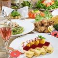 料理メニュー写真飲み放題付コースをお得に♪通常4000円→クーポン利用で3500円~ご用意!