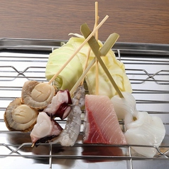 海鮮五種盛合せ