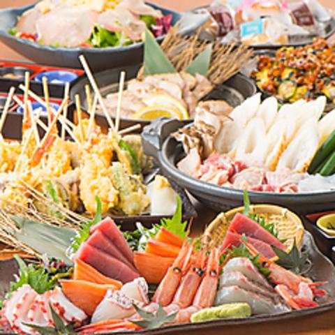こだわりの豆腐、湯葉料理を大人のかくれ庵でごゆっくりお楽しみ下さい ※写真は一例