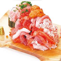 ぶっかけ寿司 こぼれ盛り