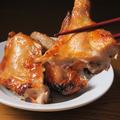 料理メニュー写真地鶏(伊達鶏)の半羽焼き