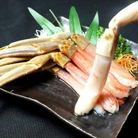 専門店ならではの蟹の旨味を新鮮さが◎