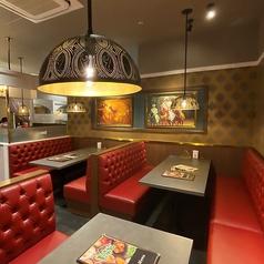 インディアンレストラン ビスヌ アミュプラザくまもと店の雰囲気1