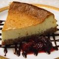料理メニュー写真チーズケーキ