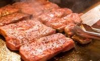 柔らかステーキの鉄板焼き
