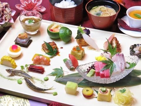 日本料理を日々研究する職人が贈る本格和食。江津の穴場で味わう至福のひととき・・・