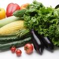 提携農家からの新鮮野菜を仕入れ 【北海道十勝郡浦幌町】水が澄んでいて美味しいところはやはり新鮮な鮮度の野菜が豊富に栽培されます。原産地より厳選した食材を仕入れております。豊富なミネラルを含んだ食材料理を是非ご賞味ください。