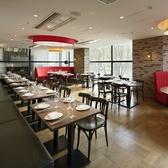 開放的な空間が食事の時間を美味しく楽しく♪お昼のご宴会にも最適★