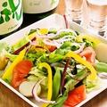 料理メニュー写真たっぷり生野菜サラダ